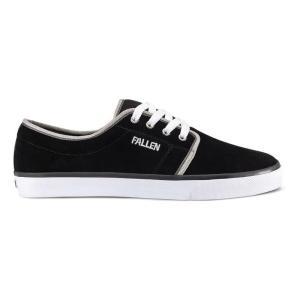 FALLEN(フォールン) 002449 FORTE II フォルテ2 BLACK/WHITE/GREY ブラック・ホワイト スケートシューズ/Skate Shoes|steadysurf