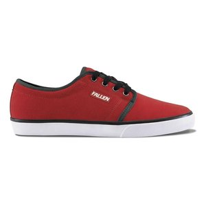 FALLEN(フォールン) 002450 FORTE II フォルテ2 BLOOD RED/WHITE ブラッドレッド・ホワイト スケートシューズ/Skate Shoes|steadysurf