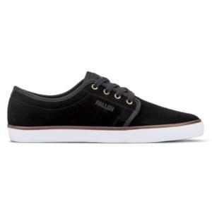 FALLEN(フォールン) 002451 FORTE2 フォルテ2 BLACK-WHITE ブラック・ホワイト スケートシューズ/Skate Shoes|steadysurf