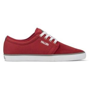 FALLEN(フォールン) 002452 FORTE2 フォルテ2 BLOOD_RED/CEMENT ブラッドレッド・セメント スケートシューズ/Skate Shoes|steadysurf