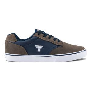 FALLEN(フォールン) 003137 SLASH スラッシュ AFGHAN BROWN/MIDNIGHT BLUE アフガンブラウン・ミッドナイトブルー スケートシューズ/Skate Shoes|steadysurf