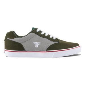FALLEN(フォールン) 003138 SLASH スラッシュ SURPLUS GREEN/CEMENT GREY グリーン・セメントグレー スケートシューズ/Skate Shoes|steadysurf
