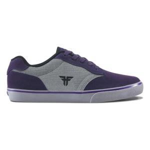 FALLEN(フォールン) 003139 SLASH スラッシュ DEEP PURPLE/CEMENT GREY ディープパープル・セメントグレー スケートシューズ/Skate Shoes|steadysurf