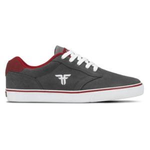 FALLEN(フォールン) 003142 SLASH スラッシュ ASH GREY/BLOOD RED アッシュグレー・ブラッドレッド スケートシューズ/Skate Shoes|steadysurf
