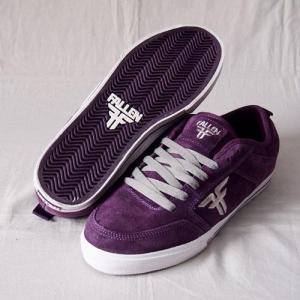 FALLEN(フォールン) 003615 CLIPPER クリッパー BLACK PLUM/CEMENT GREY ブラックプラム・セメントグレー スケートシューズ/Skate Shoes|steadysurf