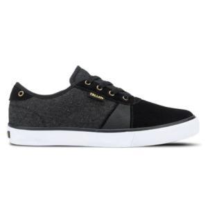 FALLEN(フォールン) 005701 STRIKE ストライク BLACK/DENIM/GOLD ブラック・デニム・ゴールド スケートシューズ/Skate Shoes|steadysurf