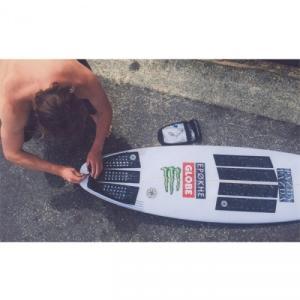ブラック OCTOPUS(オクトパス)ブレンドン ギビンズ BRENDON GIBBENS-OCTO GRIP デッキグリップトランクション デッキパッド サーフィン|steadysurf|04