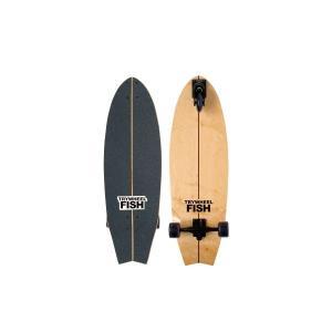 値下げ特価/TRY WHEEL(トライウィール)フィッシュ 32 SKATE ボード スケートボード/スケボー/サーフィン/練習/3輪/サーフスケート|steadysurf