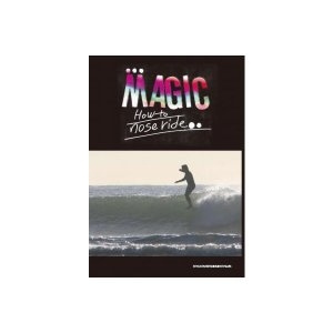 DVD HOW TO DVD MAGIC HOW TO NOSERIDE サーフィン/SURF/SURF DVD|steadysurf