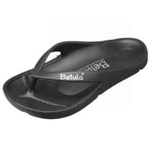 Betula(ベチュラ) エナジー ブラック ビーチサンダル/サーフィン/マリンスポーツ/スポーツ/海水浴/プール/ビーサン/|steadysurf