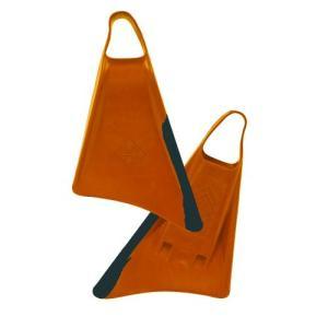 ボディーボード フィン(24-25cm)HUBBOARDS(ハブボード)HUBB AIR SWIM FIN SM-MD オレンジ&ブラック/スイムフィン/BODYBOARD/マリンスポーツ|steadysurf