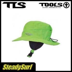 値下特価/TLS SURF HAT COOL  M-サイズ LGREEN/ライトグリーン/サーフハット/TOOLS/ツールス/帽子/日焼け防止HAT サーフィン|steadysurf