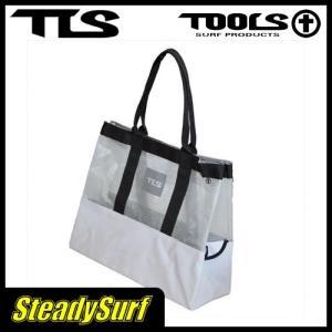 バック TOOLS WET TOTE BAG ホワイト/ツールス/サーフィン/マリンスポーツ|steadysurf
