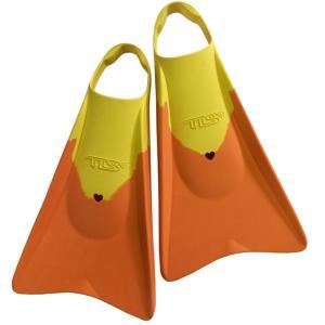 ツールス(TOOLS)ボディーボードフィン/ソフト/TLS BB FIN SOFT Orange/Yellow/オレンジ×イエロー/足ひれ/水かき|steadysurf