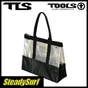 バック TOOLS ウェット トート バック メッシュクリア/ツールス/サーフィン/マリンスポーツ|steadysurf