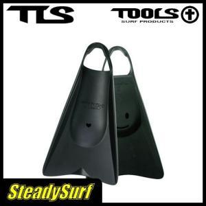ボディーボード フィン TOOLS(ツールス)TLS BB FIN ハード ブラック 24cm-25cm Black M/スイムフィン/ボディーボード/マリンスポーツ|steadysurf