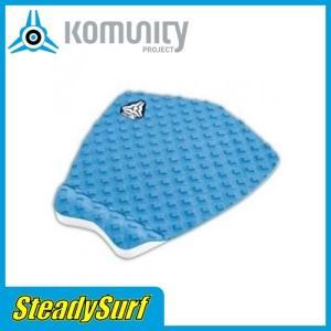 トラクション Snapper Series BLUE ブルー デッキパッド KOMUNITY PROJECT/コミュニティ プロジェクト/サーフィン/マリンスポーツ|steadysurf