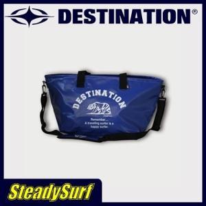 DESTINATION DS Wetsuits Tote Bag/ウェット トートバック ネイビー ベアー ウェットバッグ/ディスティネーション/サーフィン|steadysurf