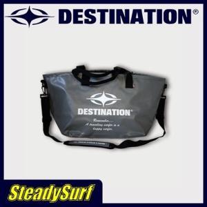DESTINATION DS Wetsuits Tote Bag/ウェット トートバック グレー スター ウェットバッグ/ディスティネーション/サーフィン|steadysurf