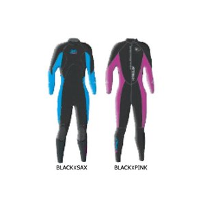 ADRENALIN(アドレナリン)ウェットスーツ レディースクラシックフルスーツ3×2mm LADYS CLASSIC FULL SUIT 3×2mm ブラック×ピンク サーフィン|steadysurf