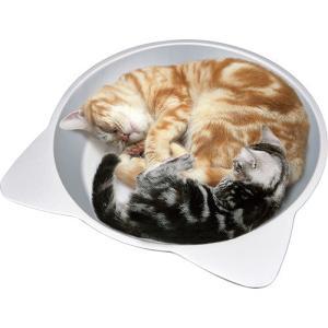 水やり [マルカン] ひんやりクール猫鍋ジャンボ CT−418|steadysurf|04