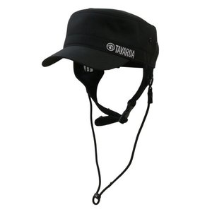 タバルア TAVARUA バリューォームサーフCAP(キャップ)ブラック/黒/ウインター 裏地3mmネオプレーン アウトドア/マリンスポーツ/サーフィン|steadysurf
