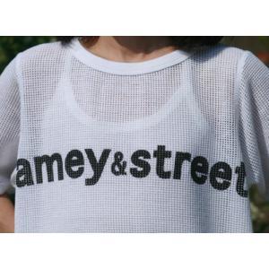 【Americana】(アメリカーナ) Amey&St メッシュ(ホワイト)|steamboat|03