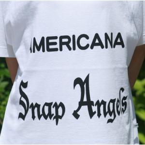 【Americana】(アメリカーナ)Angels-T(ホワイト)送料全国一律300円|steamboat|02