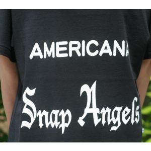 【Americana】(アメリカーナ)Angels-T(ブラック)送料全国一律300円|steamboat|02