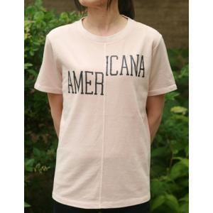 【Americana】(アメリカーナ)AMERICANA-T(ピンク)送料全国一律300円|steamboat