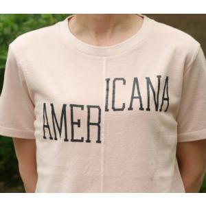 【Americana】(アメリカーナ)AMERICANA-T(ピンク)送料全国一律300円 steamboat 03