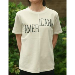【Americana】(アメリカーナ)AMERICANA-T(ライトグレー)送料全国一律300円|steamboat