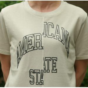 【Americana】(アメリカーナ)AMERICANA-T(ライトグレー)送料全国一律300円 steamboat 03
