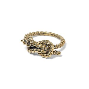 ANIMALIA アニマリア REEF KNOT RING-BRASS|steelo