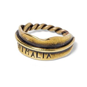 ANIMALIA アニマリア【SALE30%OFF】 ANIMALIA feat.Link-FEATHER Ring|steelo