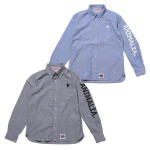 ANIMALIA アニマリア Arrogant Shirts : RR LOGO|steelo