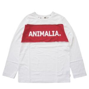 ANIMALIA アニマリア OLD WEST L/S RR LOGO|steelo