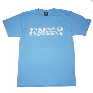 crack up cozy クラックアップコージー laid back DLV Tee /BLUE|steelo