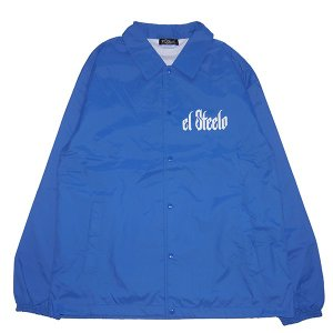 El Steelo エルスティーロ ES LOGO COACH JKT-BLUE-|steelo