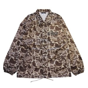 El Steelo エルスティーロ ES LOGO COACH JKT-HUNTER CAMO-|steelo