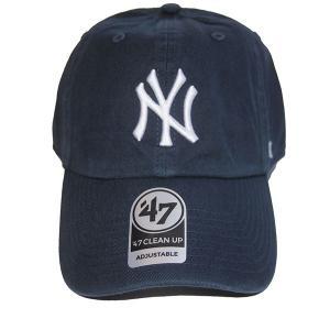 47 BRAND フォーティーセブン ブランド  Yankees Home'47 CLEAN UP-NAVY- steelo