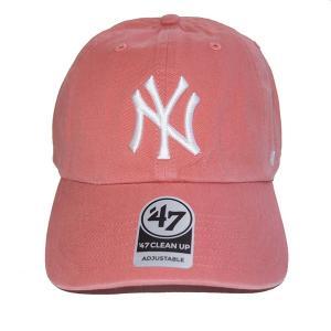 47 BRAND フォーティーセブン ブランド  Yankees Home'47 CLEAN UP-ISLAND RED- steelo