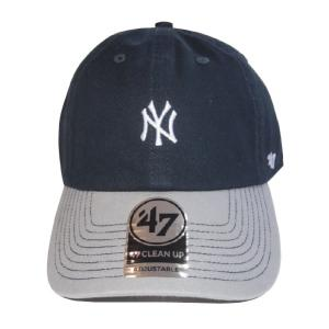 47 BRAND フォーティーセブン ブランド  Yankees centerfield'47 CLEAN UP-NAVY/GRAY-|steelo