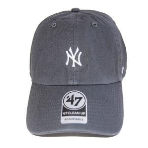 47 BRAND フォーティーセブン ブランド  Yankees Baserunner'47 CLEAN UP-CHARCOAL-|steelo