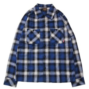 FUCT SSDD ファクト 【20%OFF】OMBRE CHECK SHIRT|steelo