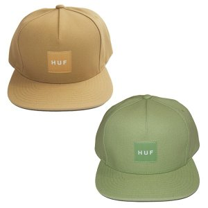 HUF ハフ DUCK CANVAS BOX LOGO SNAPBACK|steelo