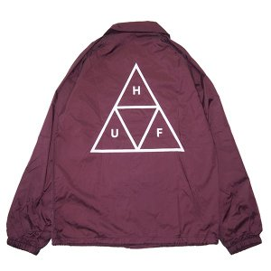HUF ハフ TRIPLE TRIANGLE COACHES JACKET|steelo