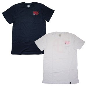 HUF ハフ LADDER POCKET TEE|steelo