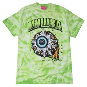 MISHKA ミシカ  TALLBOY KEEP WATCH TIE DYE  T-SHIRT|steelo
