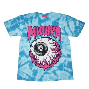 MISHKA ミシカ  LAMOUR KEEP WATCH CRINKLE Tie Dye TEE|steelo